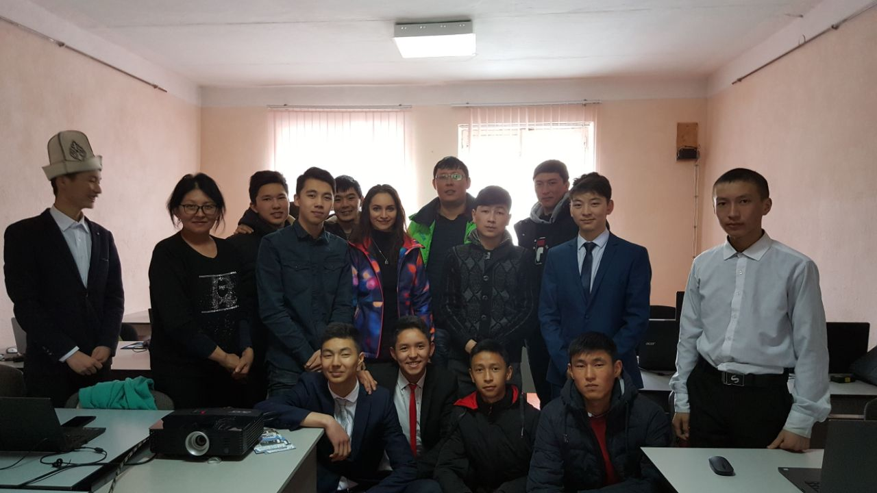 Meeting with IT Academy in Karakol